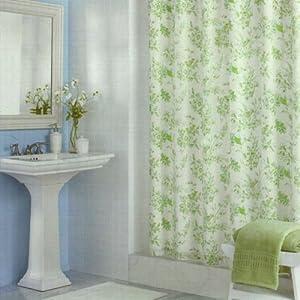 martha stewart bluebird garden 72 shower curtain home
