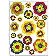 Pegatinas para la pared Wandkings «Flores retro» - Juego de adhesivos de 38 unidades en 2 hojas DIN A4 por Wandkings.de - BebeHogar.com