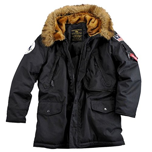 Alpha Ind. Jacke Polar Jacket Down- black online bestellen