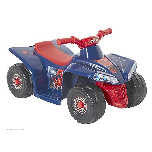 "Ride On Toys Battery Powered Spider-Man 6V Little Quad 17"" H x 16.5"" W x 26"" L*"