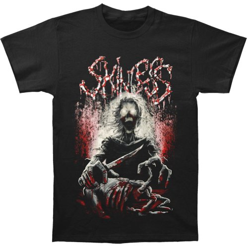 Skinless Men'S Knife Killer T-Shirt X-Large Black