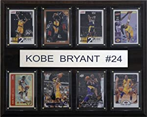 NBA Kobe Bryant Los Angeles Lakers 8 Card Plaque by C&I Collectables