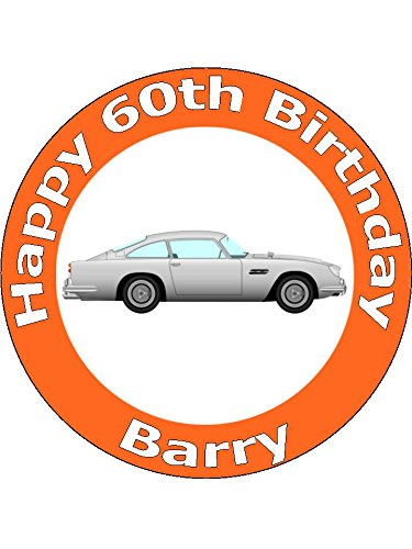 75-inch-db5-grand-tourer-sports-car-birthday-cake-toppers-decorations-personalised-on-edible-rice-pa