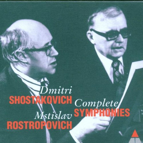 Symphony No. 1-4-5-8-9-11 Dmitri Shostakovich. National Symphony Orchestra, Rostropovich. Teldec Records 1991-1995