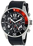 Invicta Men's 15145 Pro Diver Stainless Steel Watch With Black Polyurethane Band