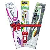 Executive, Signature & Lion Toothbrushes (Family Pack Of 3)