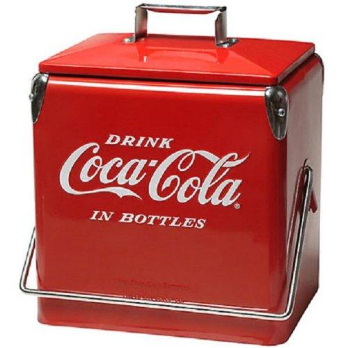Coca-Cola 1940S Replica Tin Cooler front-540118