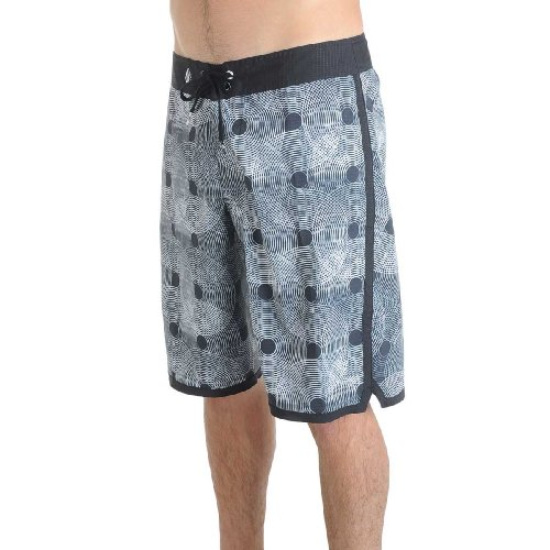 Volcom - Mens V6S Blur Boardshorts, Size: 28, Color: Black
