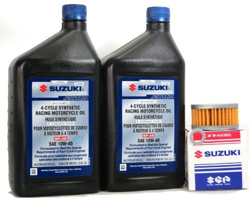 2005 2006 Suzuki Dr Z400sm Full Synthetic Oil Change Kit