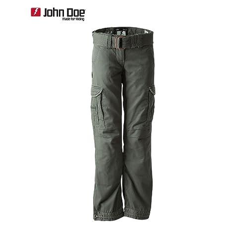 John doe kAMIKAZE pantalon cARGO slim cut avec fibres en duPont kEVLAR ®-vert