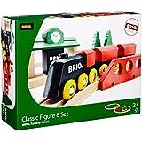 BRIO BRI-33028 Rail Classic 8 Figure Set
