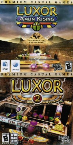 Luxor: Amun Rising + Luxor 2 Double Pack MAC NEW