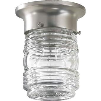 Quorum 3009 3 65 Jelly Jar Jelly Jar Ceiling Light