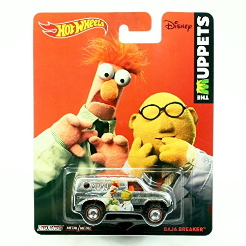 DR. BUNSON HONEYDEW & BEAKER / BAJA BREAKER * Disney / The Muppets * 2014 Hot Wheels Pop Culture Series 1:64 Scale Die-Cast Vehicle (Beaker From Muppets)