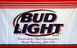 Bud Light Indoor Outdoor Parade Dyed Flag by Flag