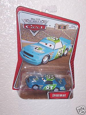 DISNEY CARS EXCLUSIVE SPAREMINT -NEW IN PACKAGE- by Mattel