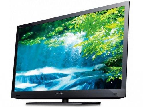 Sony Bravia KDL-46EX720BAEP 117 cm (46 Zoll) 3D-Edge-LED-Fernseher  (Full-HD, Motionflow XR 100Hz, DVB-C/T, CI+, HDMI) schwarz