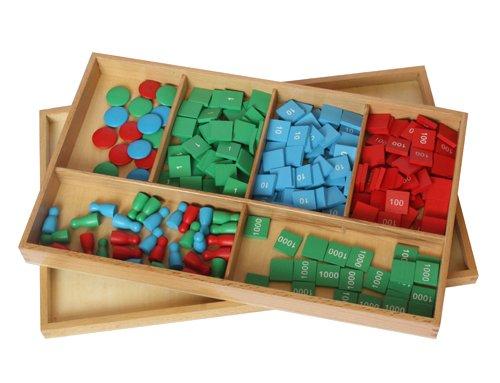 Kid Advance Co. Montessori Stamp Game