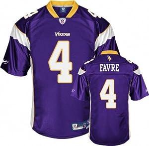 Reebok Minnesota Vikings Brett Favre Premier Jersey by Reebok