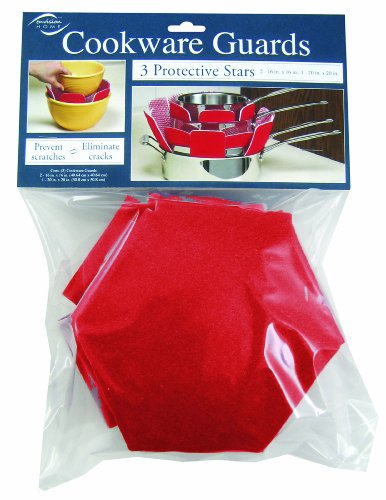 Envision Home 3-Pack Cookware Guards Pot Protectors