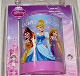 Disney Princess LED Night Light Rapunzel Cinderella Belle Bedroom Lamp