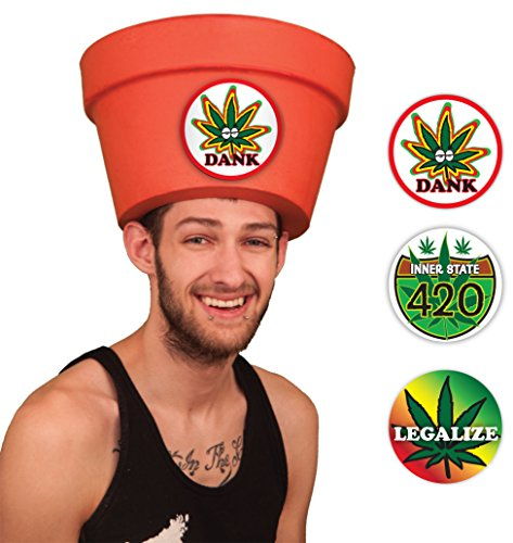 Marijuana Pot Head Hat