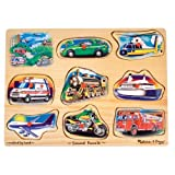 Melissa & Doug Vehicle Sound Puzzleby Melissa&Doug