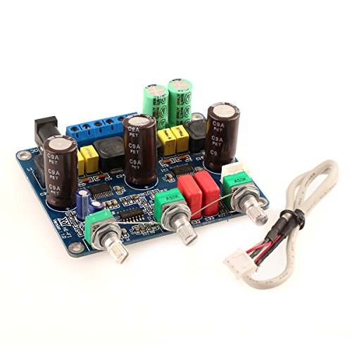 Drok™ Tpa3123 Class D Digital Subwoofer Amplifier 2.1 Channel Amp Diy Board 4-8 Ohm