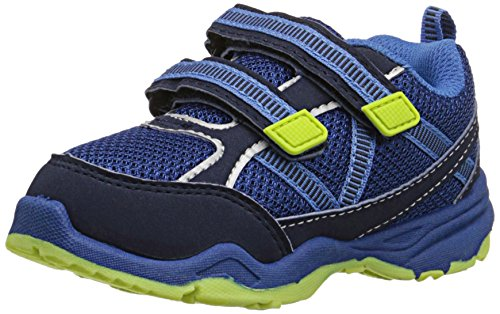 carter's Dante Athletic Shoe (Toddler/Little Kid), Royal Blue/Lime, 9 M US Toddler