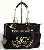 Juicy Couture Diaper Bag Tote Brown