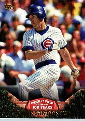 2016 Topps #WRIG-2 Ryne Sandberg Chicago Cubs Baseball Card -MINT