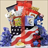 American Pride: Patriotic Gourmet 4th of July Gift Basket
