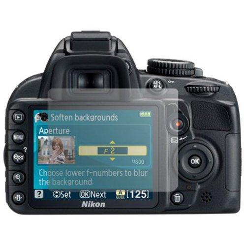 3x CoolGadget Clear Displayschutzfolie für Nikon D3200 - Schutzfolie klar