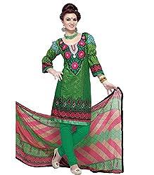 Khazana Women's Unstitched Dress Material (khazana-26-pk-79_Green_Free Size)