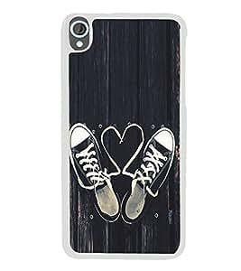 Love Laces 2D Hard Polycarbonate Designer Back Case Cover for HTC Desire 820 :: HTC Desire 820 Dual Sim :: HTC Desire 820S Dual Sim :: HTC Desire 820q Dual Sim :: HTC Desire 820G+ Dual Sim
