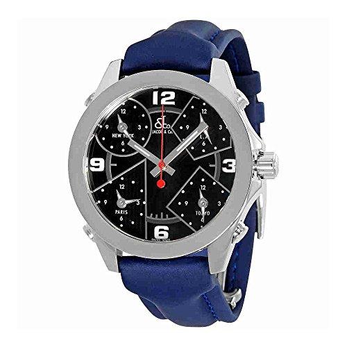 jacob-and-co-five-time-zone-black-dial-blue-strap-mens-watch-jcm-2