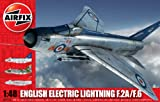 Airfix 1:48 Scale English Electric Lightning F2A/F6 Military Aircraft Series 9 Model Kit