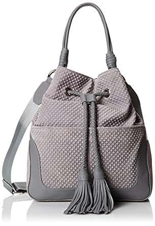 L.A.M.B. Dixy Shoulder Bag,Grey,One Size