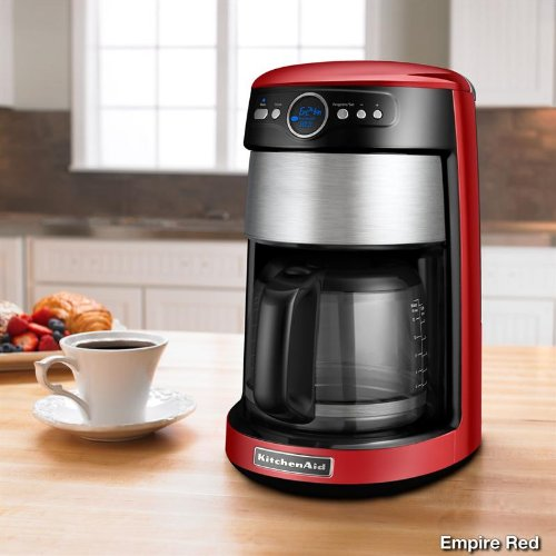 Kitchenaid Coffee Maker 14 Cup Manual : KitchenAid 14-Cup Glass Carafe Coffee Maker - Gourmet Coffee & Equipment