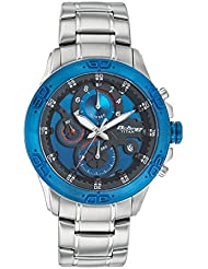 Titan Octane Feel The Speed Men Chronograph Stainless Steel Watch-90047KM02