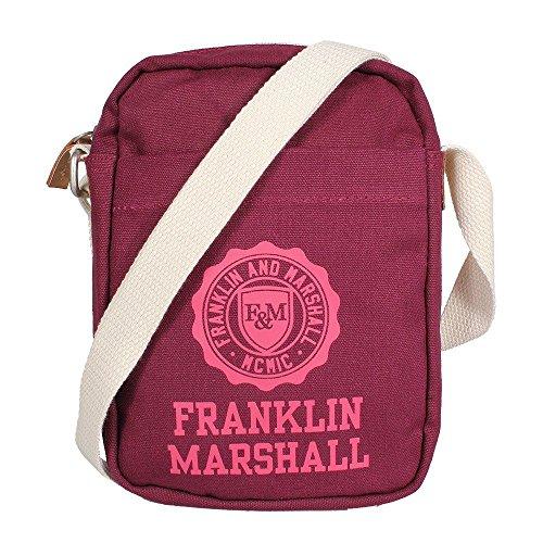 franklin-marshall-small-shoulder-bag-bordeaux-solid