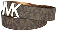 Michael Kors Mk Logo Buckle Synthetic…