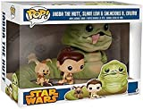 Star Wars Return of the Jedi Exclusive Jabba, Slave Leia & Salacious B. Crumb...