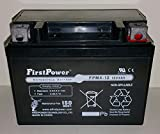 (1) FirstPower FPM4-12 AGM for