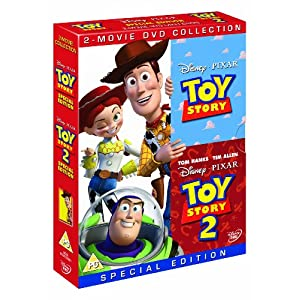 Toy Story/Toy Story 2 [DVD]