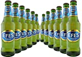EFES Pilsner Lager with FREE EFES branded glass 12 x 330ml