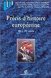 echange, troc Collectif, Asselain - Précis d'histoire européenne (2ème édition)
