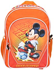 Mickey School Bag Football Story, Multi Color (16-inch)