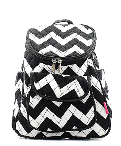 Quilted Chevron Backpack