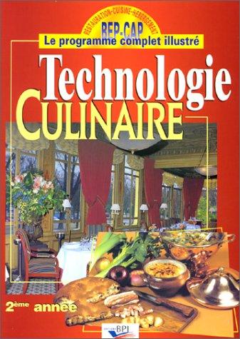 Download technologie culinaire pdf gratuit free miragamand for Sujet examen cap cuisine corrige